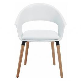 Sada 2 bílých židlí Støraa Alto