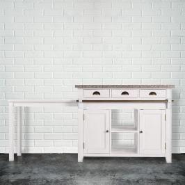 MAPLE HILL Kuchyňská skříň se žulovou deskou