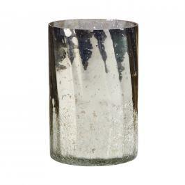 DELIGHT Svícen tříštěné sklo