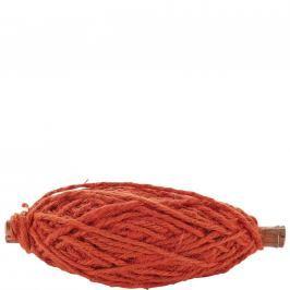 RIBBON Provázek - oranžová