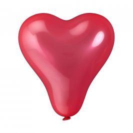 UPPER CLASS Balónky srdce set 10 ks - červená