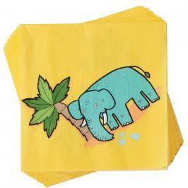 APRÉS Papírové ubrusky slon 20 ks