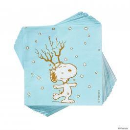 PEANUTS Papírové ubrousky Snoopy Frosty 20 ks