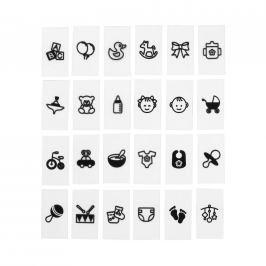 BLOCKBUSTER Symboly Vítání miminka 30 ks