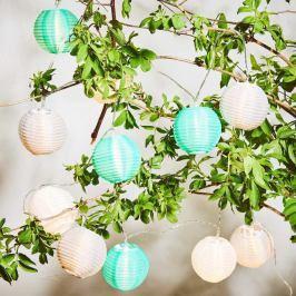 OPEN AIR LED Světelný řetěz venkovní 10 světel - zelená