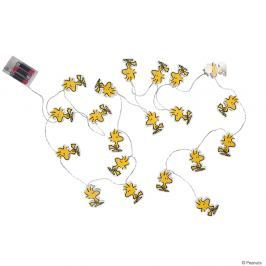 PEANUTS LED Světelný řetěz papírový 20 světel - žlutá