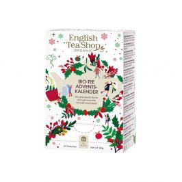 THE ENGLISH TEASHOP Čajový adventní kalendář malý