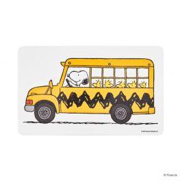 PEANUTS Snídaňové prkénko autobus