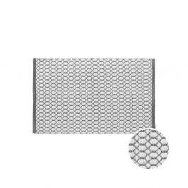 COTTON WAY Koberec oboustranný grafický vzor 90 x 60 cm - černá/bílá