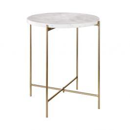 MARBLE Příruční stolek s mramorovou deskou