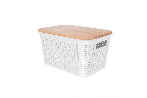 Box UH/dřevo+víko 28,5x21x15 cm ORION Skladovací boxy
