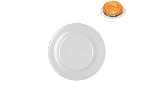 Talíř porc.des.malý kulat.bílý ORION Talíře, misky