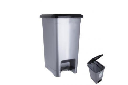 Koš odp. UH s pedálem SLIM 25 l ORION Odpadkové koše