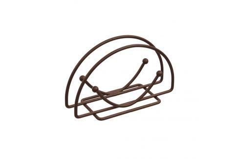 Stojan ubrousky drát oblouk BROWN ORION Vybavení kuchyně
