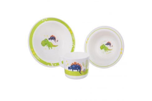 Sada jídelní UH dětská DINO 3 ks ORION Talíře, misky