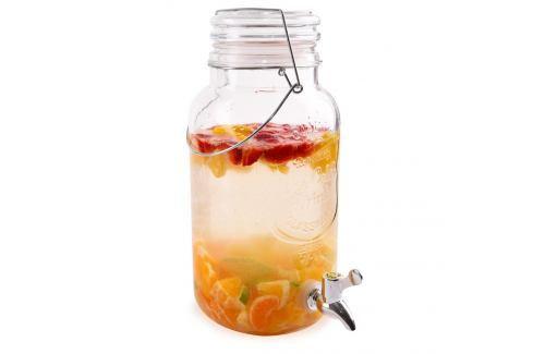 Láhev sklo+kohoutek 3,5 l ORION Zásobníky na vodu