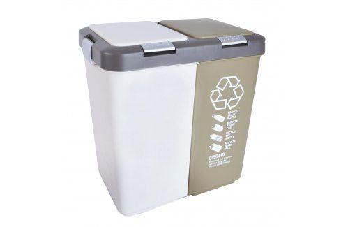 Koše na tříděný odpad, 2x20 l ORION Odpadkové koše