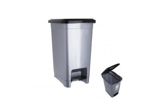 Koš odp. UH s pedálem SLIM 15 l ORION Odpadkové koše