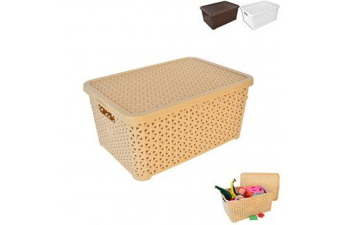 Box UH RATAN + víko HOBBY 10l ASS ORION Skladovací boxy