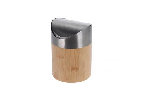 Koš odp. bambus/nerez 1,5 l ORION Odpadkové koše