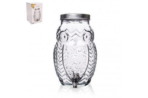 Láhev sklo+kohoutek SOVA 5,2 l  ORION Zásobníky na vodu