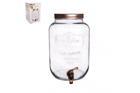 Láhev sklo+kohoutek 8,8 l ORION Zásobníky na vodu
