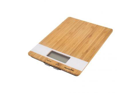 Váha kuch. digi. bambus 5 kg WHITELINE ORION Kuchyňské váhy