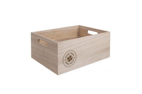 Bedýnka dřevo HOME MADE 26x16x11 cm ORION Skladovací boxy