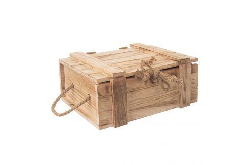 Truhla dárková dřevo 30x21x12 cm ORION Skladovací boxy