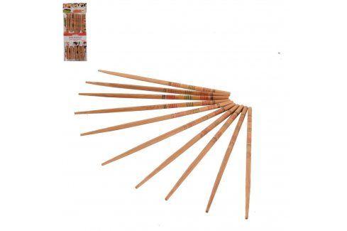 Jídelní hůlky dřevo SUSHI 5 párů ORION Příbory