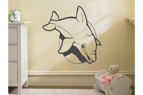 Samolepka na zeď Delfín 001 Zvířátka
