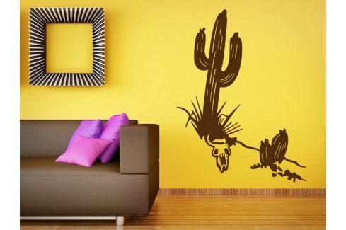 Samolepka na zeď Kaktus 001 Rostliny