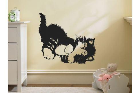 Samolepka na zeď Koťátko 001 Kočička