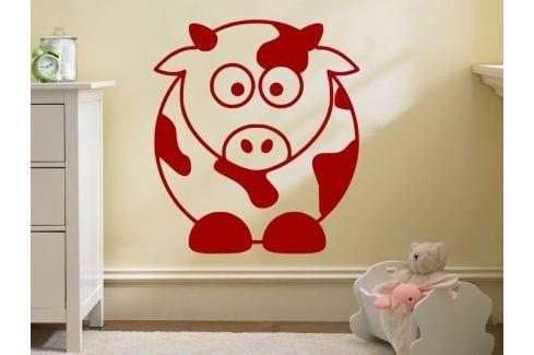 Samolepka na zeď Kráva 001 Kravička