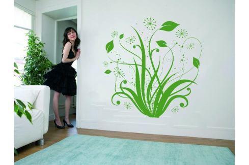 Samolepka na zeď Květiny 004 Květiny
