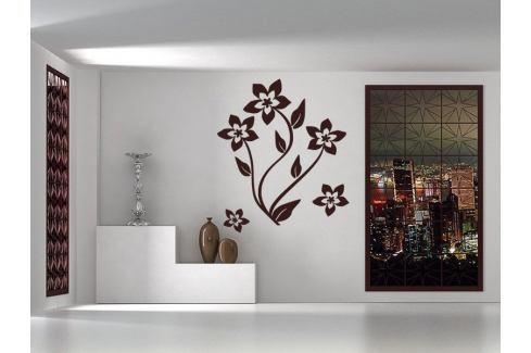 Samolepka na zeď Květiny 019 Květiny