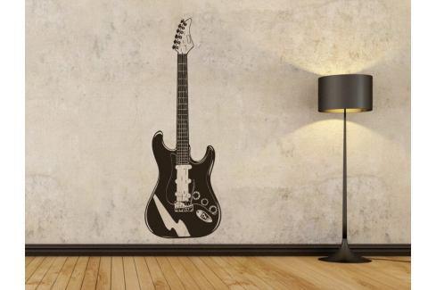 Samolepka na zeď Kytara 002 Kytara