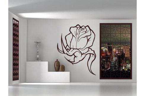 Samolepka na zeď Kytka 002 Růže