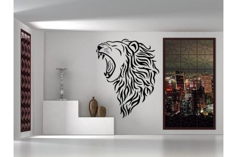 Samolepka na zeď Lev 007 Lev