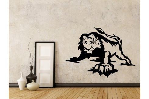 Samolepka na zeď Lev 011 Lev