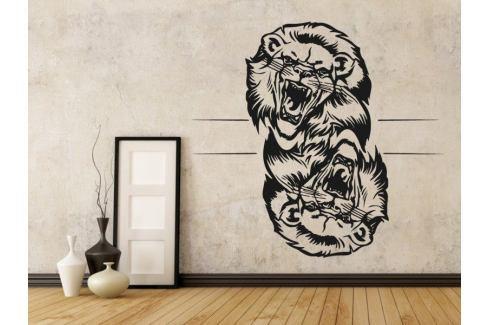 Samolepka na zeď Lev 014 Lev