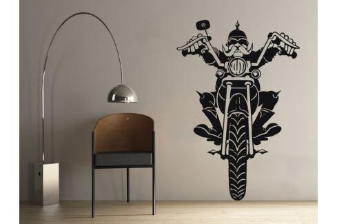 Samolepka na zeď Motorkar 001 Motorka