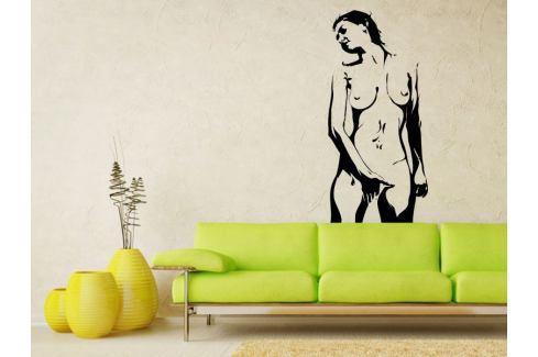 Samolepka na zeď Nahá žena 001 Ženy