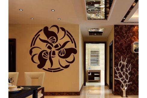 Samolepka na zeď Ornamenty z rostlin 012 Ornamenty z rostlin