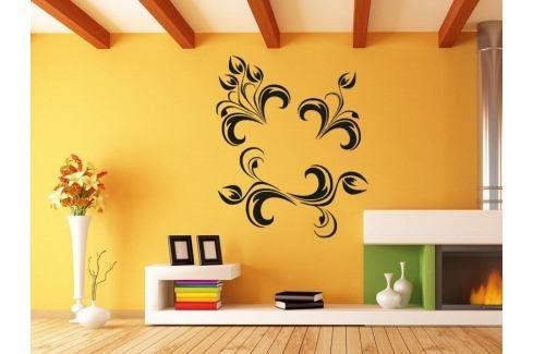 Samolepka na zeď Ornamenty z rostlin 013 Ornamenty z rostlin