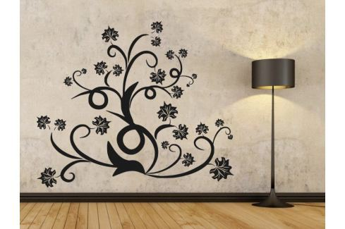 Samolepka na zeď Ornamenty z rostlin 015 Ornamenty z rostlin