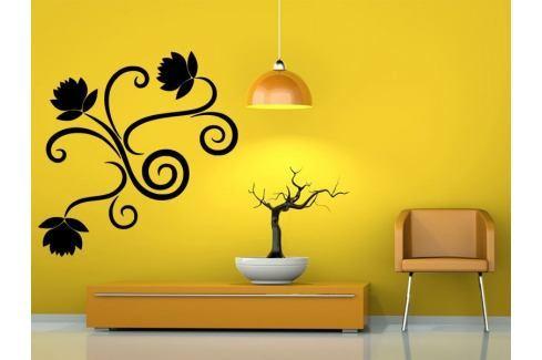 Samolepka na zeď Ornamenty z rostlin 019 Ornamenty z rostlin