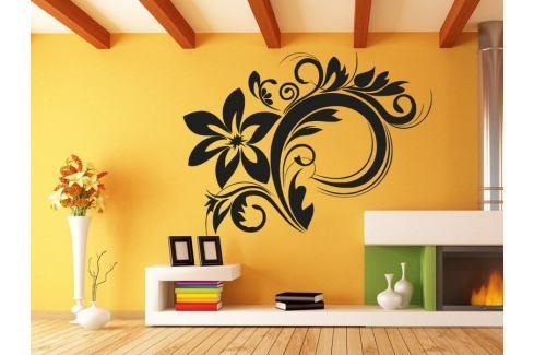 Samolepka na zeď Ornamenty z rostlin 030 Ornamenty z rostlin