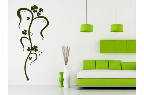 Samolepka na zeď Ornamenty z rostlin 035 Ornamenty z rostlin