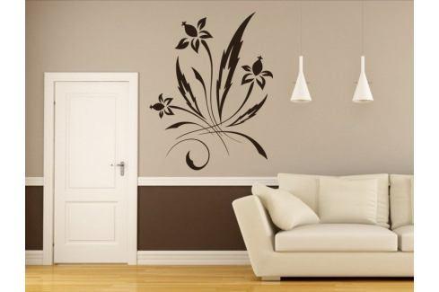 Samolepka na zeď Ornamenty z rostlin 036 Ornamenty z rostlin